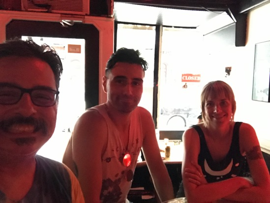 2017-07-17 Big Bar (NYC) with Brandon & Stephanie