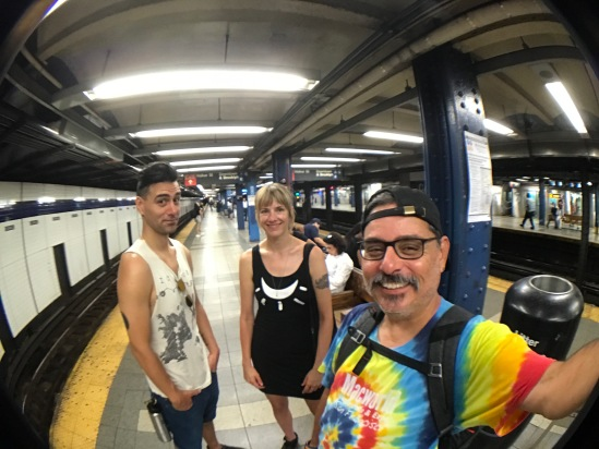 2017-07-17 NYC Subway with Brandon & Stephanie