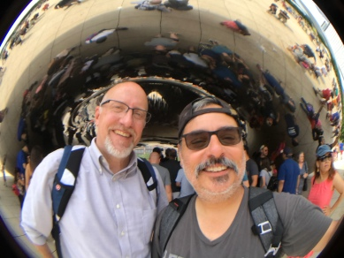 2017-07-22 The Bean (Chicago IL) with Greg Thompson