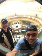 2017-07-23 Wisconsin Capitol Rotunda Madison WI with Greg Thompson