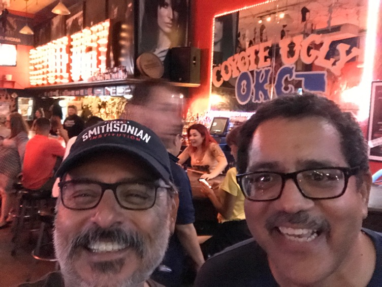 2017-07-27 Coyote Ugly (Oklahoma City OK) with Arturo Saliva