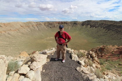 2017-07-29 Meteor Crater AZ