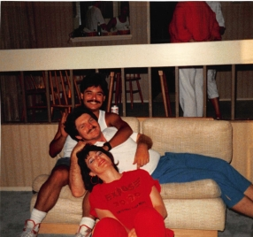 1988 creagan house party with jen bispo