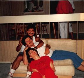 1988 creagan house party with jen bispo