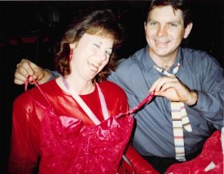 1991-02-14 Valentine's Day with Denise, Creagan & Michele