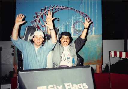 1993-04-19 Magic Mountain with Creagan & Jenny