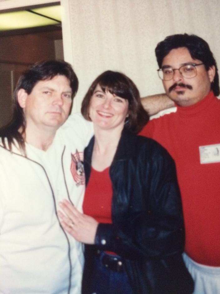 1994-03 Creagan's Good-bye party with Creagan & Jennifer