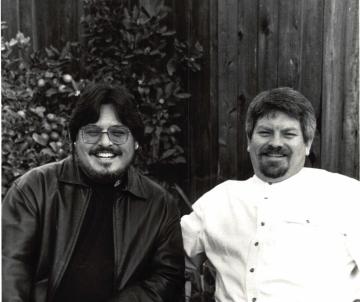 1999-11-20 Creagan & I at Mom & Dad's 50th Anniversary