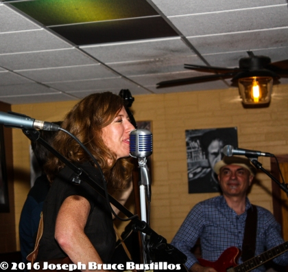 2016-06-03 OHD at Smiling Bison: Rachel Decker happy vocals and George Dimitrov happy guitar