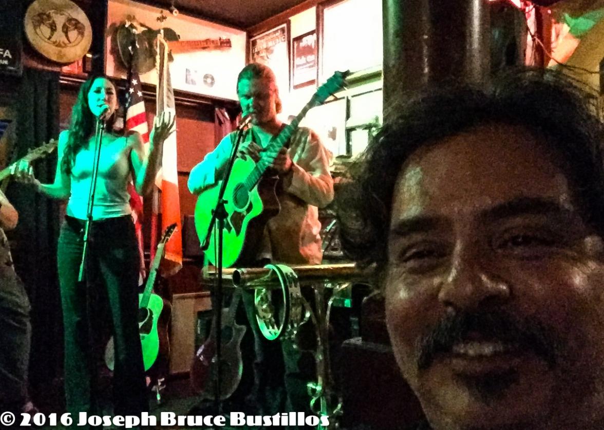 2016-07-10 Fiddler's Green Open Mic Nite - Selfie