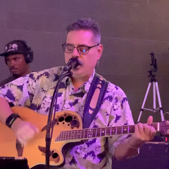 2019-07-08 Joe Bustillos at Ninja Karaoke Open Mic